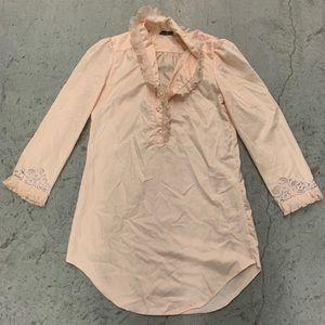 Auth Vintage Christian Dior Silk Lingerie gown
